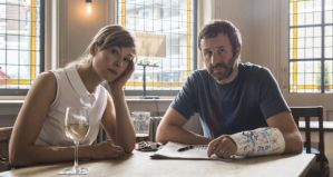 Rosamund Pike and Chris O'Dowd