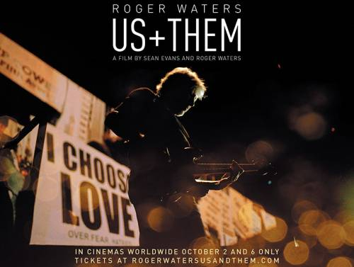 Roger Waters, Us + Them Poster