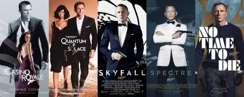 Daniel Craig Bond Posters